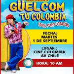 Güelcom tu Colombia (2015) Dvdrip Latino [Comedia]