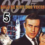 007 James Bond 5: Sólo se vive dos veces (1967) Dvdrip Latino [Aventuras]