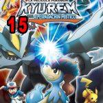 Pokémon 15: Kyurem contra el Espadachín Místico (2012) Dvdrip Latino [Animación]